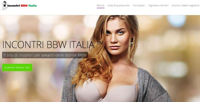 incontri bbw italia